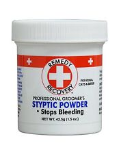 Stop Styptic Powder Pet Groomering Care Remedy Recovery Quick Safe Effective