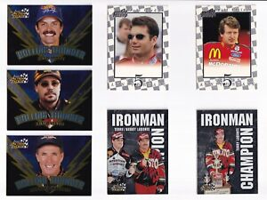 1997 Action Packed IRONMAN CHAMPION #2 Terry & Bobby Labonte BV$40!! ONE CARD!