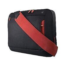 Belkin 15.6 Messenger Bag - Jet/cabernet