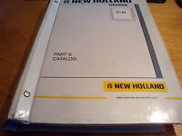 New Holland G140 Motor Grader Parts Catalog List Book Manual NH #2