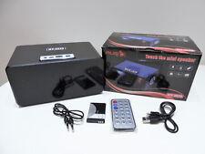 Musikbox MP3 Player Radio Aux Micro-SD Disco LED Lautsprecher mit Fernbedienung