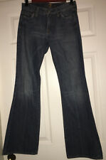 7 For All Mankind Women's Flare Jeans Size 27 Dark Wash