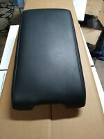 03 - 07 Infiniti G35 COUPE center console lid / armrest . Black leather OEM