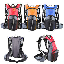 Light Weight Cycling Bicycle Backpack For Hiking Caming Riding Running F7