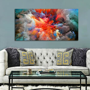 Abstract Colorful Cloud Art Prints Poster Wall Hanging Decor Gift Unframed