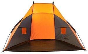 Outdoor Beach Sun Shade Windproof Camping Tent Seaside Garden Shelter Blue Tent