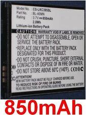Batterie 850mAh type BL-40MN EAC61700902 Pour LG Xpression C395C