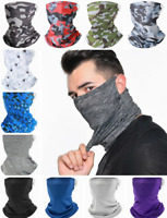 Cooling Neck Gaiter Face Scarf Sun Shield Balaclava Camo Bandana Headband