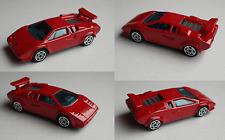 Bburago - Lamborghini Countach 5000 rot 1:43 Modellauto