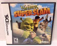 "SHREK ""SUPERSLAM"" Video Game for Nintendo DS (No Instruction Booklet) Used"