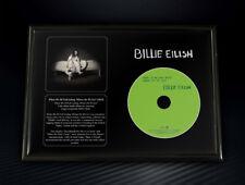 Framed Billie Eilish - When We All Fall Asleep, Where Do We Go? Memorabilia