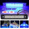12V Waterproof LED Marine Boat Yacht Deck Bow Spreader Navigation Light Blue