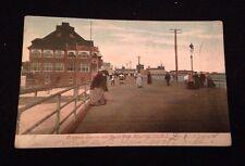 Vintage 1906 Postcard Brighton Casino and Board Walk Atlantic City,  New Jersey