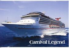 Carnival Cruise's CARNIVAL LEGEND  (Card # 1)