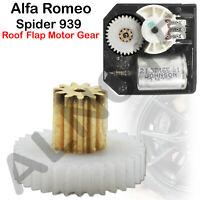 Alfa Romeo Spider 939 Roof Flap Motor Replacement Gear + 3 Years Warranty