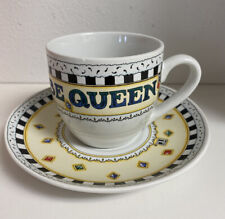 Mary Engelbreit It'S Good To Be Queen Tea Cup and Saucer Euc