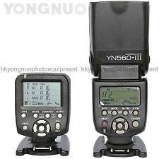 Yongnuo YN560-TX Wireless Flash Controller+ Flash Speedlite YN-560 III for Canon
