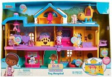 Doc McStuffins Toy Hospital Play Set 3+ Toy Mobile Doll House CeCe Rhonda Lambie