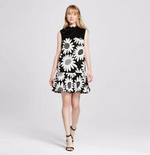 NEW Victoria Beckham For Target Black Daisy Dress, MEDIUM