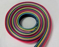 "7/8"" Grosgrain Ribbon~Solids colors~Lot of 30 yards~ one yard of each color"
