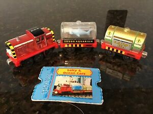 Thomas & Friends TAKE N PLAY DIECAST SALTY AND OCEAN CARS  W/CHARACTER CARD