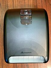 New Georgia-Pacific Sofpull Automated Touchless Paper Towel Dispenser Black