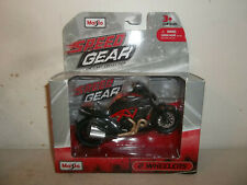 2012 MAISTO SPEED GEAR 1/18 SCALE BLACK RED 2012 DUCATI DIAVEL CARBON