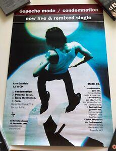 Depeche Mode - Condemnation - CD/LP Single Poster / Plakat