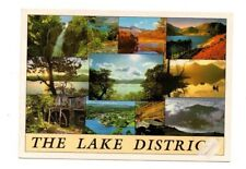 Cumbria - The Lake District - Multiview Postcard Franked 1999