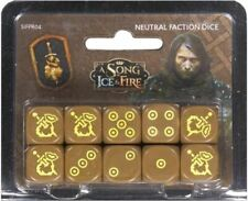 A Song Of Ice and Fire Miniatures Game - Mercenaries Dice