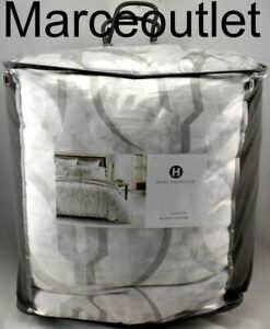 Hotel Collection Primativa KING Comforter Silver