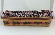 Longaberger 2000 Hostess All American Large Serving Tray Basket Combo