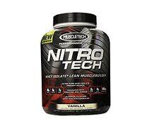 Nitro Tech Performance Series Whey Isolate Vanilla - 4 lbs