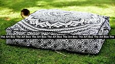 """Indian Mandala Meditation Square Ombre Floor Pillow Throw Cushion Cover Pouf 35"""""""