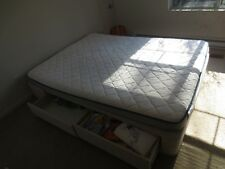 Queen Foam Mattress(Firm) with Complete Box with drawers-Excellent Condition