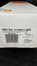Briton 2130B.C.SES DOOR Closer size 2-6 Silver adjustable backcheck. bnib.