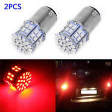 2PCS 1157 BAY15D 50 SMD 1206 LED Car Tail Stop Brake Lamp Bulb DC 12V Red Light