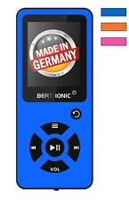 BERTRONIC Made in Germany BC03 16 GB MP3-Player - Blau - 100 Stunden