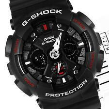 Men's Black G-Shock Analog Digital Anti-Magnectic (model number GA-120-1ADR)