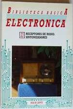 RECEPTORES DE RADIO - SINTONIZADORES - BIBLIOTECA BÁSICA ELECTRÓNICA Nº 23 - VER