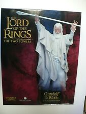 Lord of the Rings 'Gandalf the White' Sideshow Weta Polystone Statue 1/6 scale