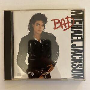 Michael Jackson - BAD - 1987 Original US CD (Used)