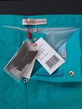 Orlebar Brown Bright Turquoise ATOLL Shorts de bain taille 40 DANE II Fit BNWT