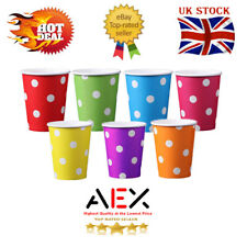 More details for 30 disposable tea coffee strong paper cups hot cold vending drinks party wedding