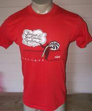 Vintage 80s new Orleans Marathon 1983 Soft t shirt coke coca cola