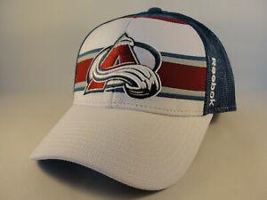Colorado Avalanche NHL Reebok Trucker Snapback Hat Cap