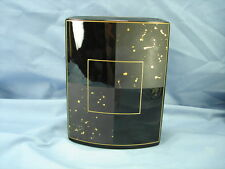 ROSENTHAL STUDIO LINIE 7 INCH CARRE D'OR GOLD DROPS VASE SIGNED BY YANG MINT