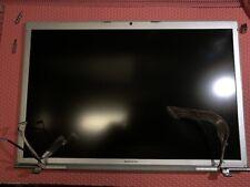"""ORIGINALE APPLE DISPLAY LCD ASSEMBLATO CON CERNIERE MACBOOK PRO 17"""" A1261"""