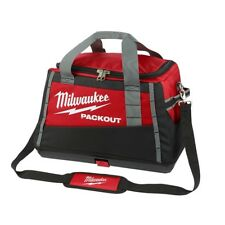 Milwaukee Packout Tool Bag All Metal Hardware Heavy Duty Jobsite Use 20 in.