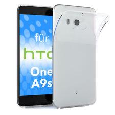 Schutz Hülle für HTC One A9s Case Silikon Handy Cover Transparent